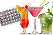 Αντισυλληπτικά χάπια και αλκοόλ