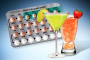 Contraceptive pills and alcohol